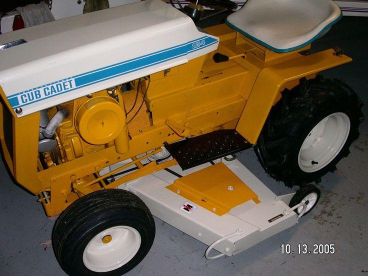Cub Cadet 124 Pulling Tractor : Farmall cub view topic paint cadet