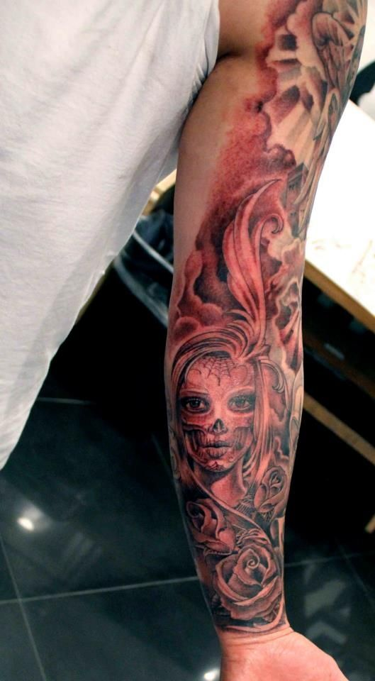 43 best rap forearm tattoos images on pinterest design for Tyga arm tattoos