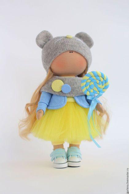 Купить или заказать Кукла текстильная. Кукла интерьерная. Агата. в интернет-магазине на Ярмарке Мастеров. Текстильная, интерьерная куколка по имени Агата. Выполнена на заказ в нежных оттенках детской комнаты. Подвижные ручки и ножки. Кукла текстильная. Кукла интерьерная. Будет замечательным подарком к любому празднику. Хотите, чтобы Ваш подарок был незабываемым? Тогда авторская кукла — это именно то, что нужно! Она удивит и обрадует девочку любого возраста!!!