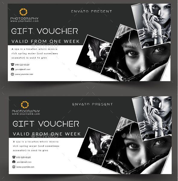 #Gift #Voucher - Cards & Invites Print Templates Download here: https://graphicriver.net/item/gift-voucher/20211721?ref=alena994