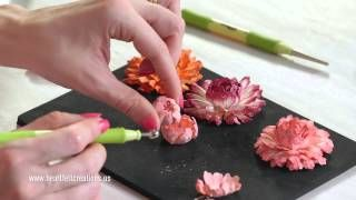 Heartfelt Creations - Majestic Morning Flower Shaping part 2