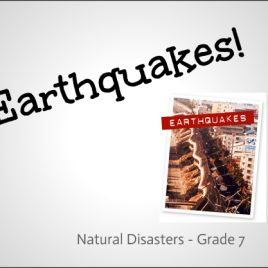 Earthquakes Lesson | download on www.onniesonline.co.za