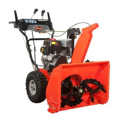 Ariens Compact 24 in. Two-Stage Electric Start Gas Snow Blower-920021 - The Home Depot