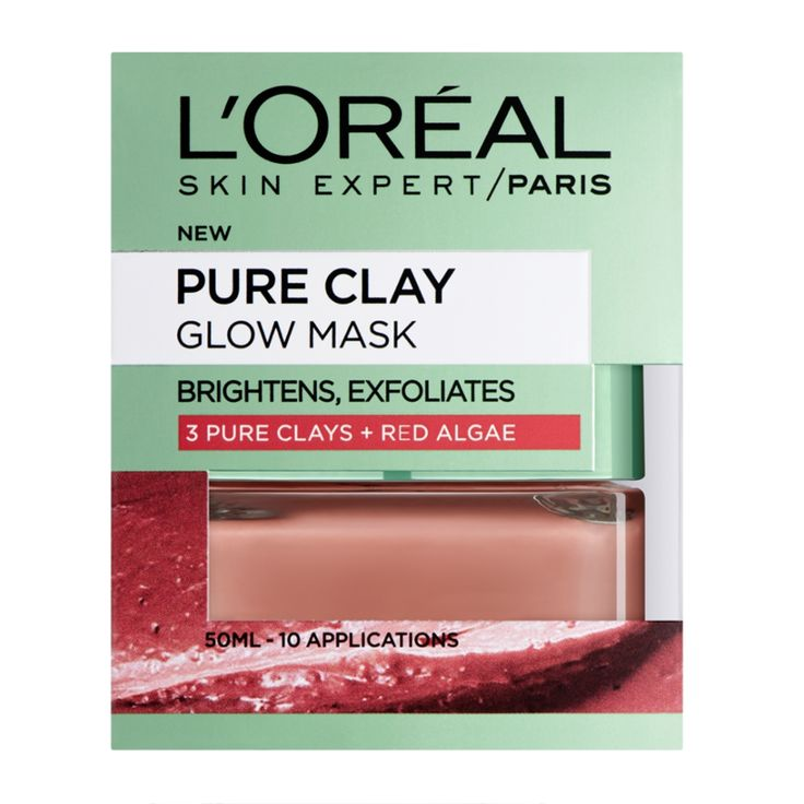 The Pure Clay range brings you L'Oréal Paris' latest skincare innovation.  Their face masks combine three powerful pure clays to unmask beautiful skin. L'...