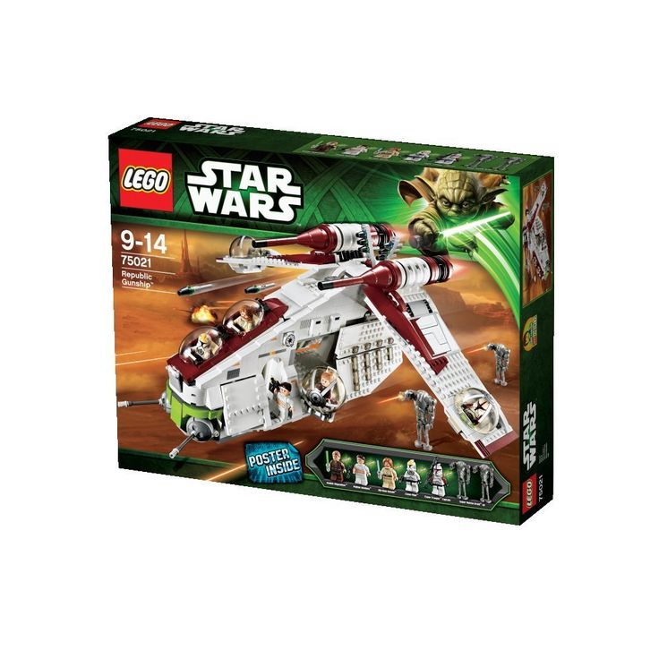 Amazon.com: LEGO Star Wars Republic Gunship (75021) (Discontinued by manufacturer): Toys & Games
