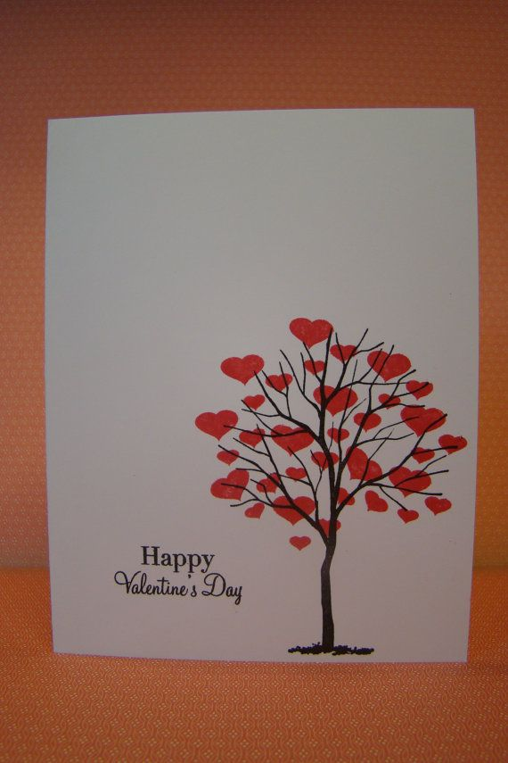 Happy Valentines Day - Clean and Simple