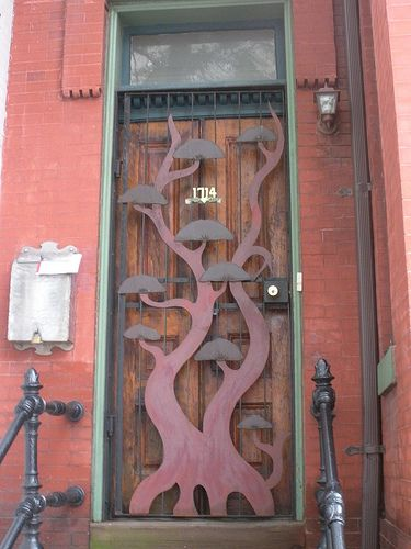 I Wanted To Show This Door For The Reader Who Was Looking Non Traditional Security Bars
