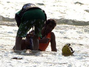 Ünlü oyuncunun korkutucu sörf kazası