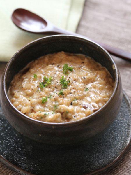 玄米ご飯で☆ポルチーニの玄米クリームリゾット by 星野奈々子 ...