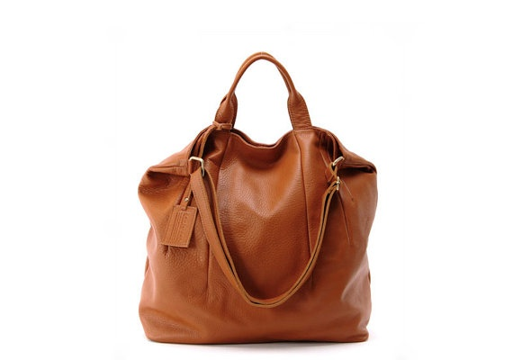 beautiful soft leather handbag from My Afternoon Tea $154