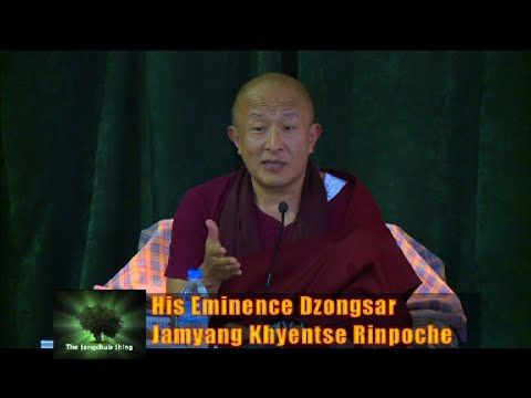 "Jangchub Shing with Dzongsar Jamyang Khyentse Rinpoche on ""The Guru Rinp..."