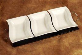Verdici Design 3 dish platter