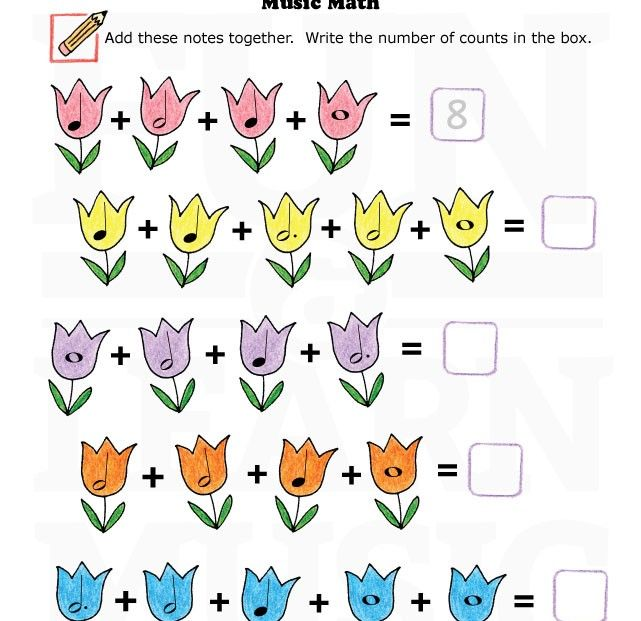 Music-Worksheets-Music-Math-004.  This site has a ton of music worksheets and activities, categorized by topic.