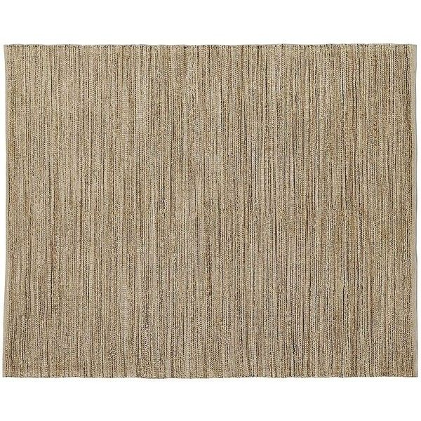 Crate & Barrel Jarvis Grey Jute-Blend 8'x10' Rug (1,270 ILS) ❤ liked on Polyvore featuring home, rugs, hand woven jute rug, textured rugs, grey area rug, gray jute rug and crate and barrel rugs
