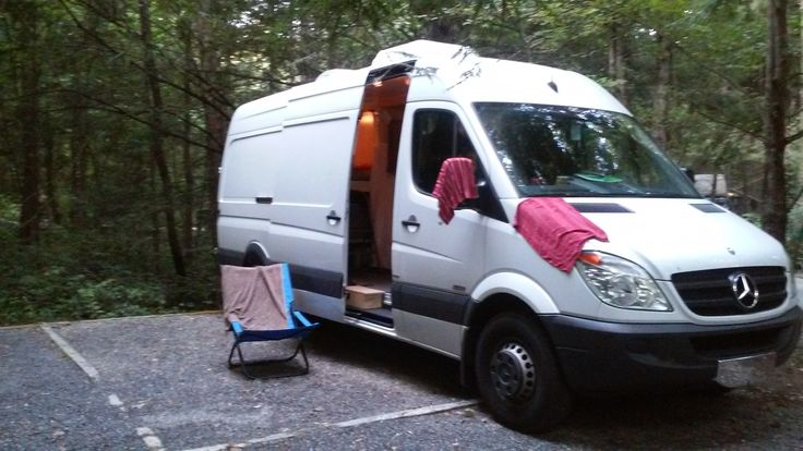 Amy's Awesome Converted Sprinter RV For Sale