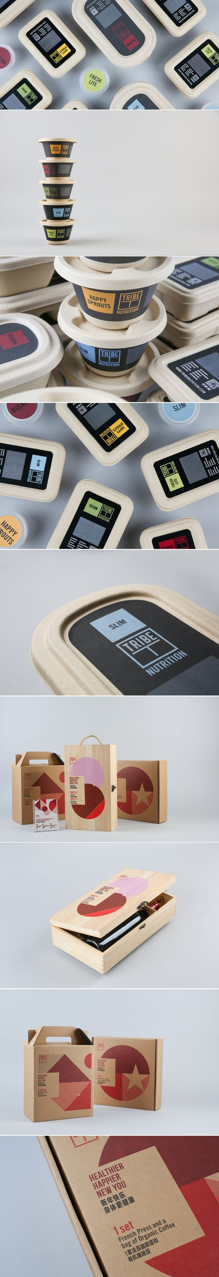 Tribe Organic Foods — The Dieline | Packaging & Branding Design & Innovation News