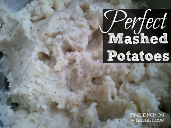 perfect mashed potatoes