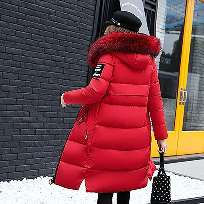 Bekleidung Loveso Damen Mantel Daunenjacke Übergangsjacke