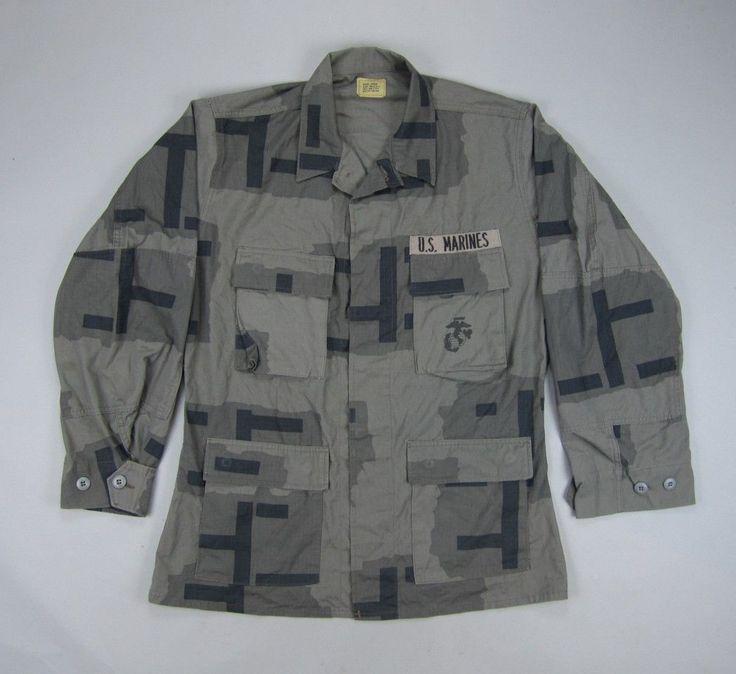 Cheap Military Surplus >> USMC MOUT T-Pattern Urban Camo BDU Shirt | Camo gear, Camo jacket, Camo