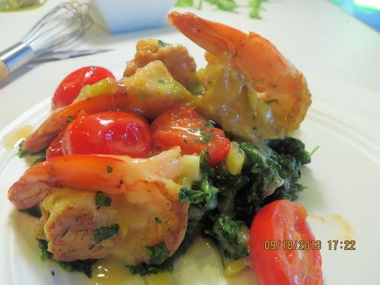 Shrimp Francese Recipe - Genius Kitchensparklesparkle