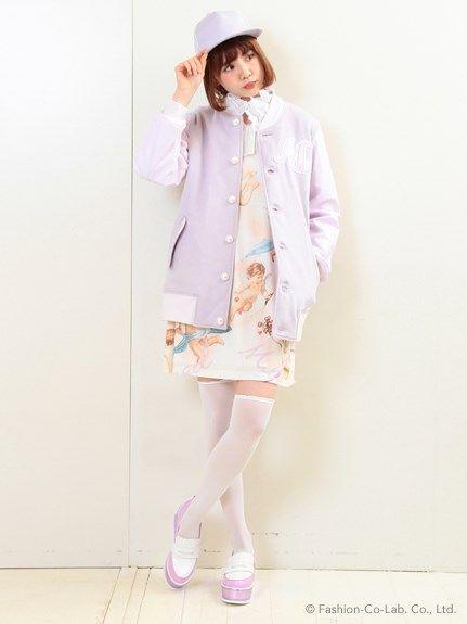 TEAM ANGELスタジャン(ブルゾン)|MILK(ミルク)|ファッションウォーカー