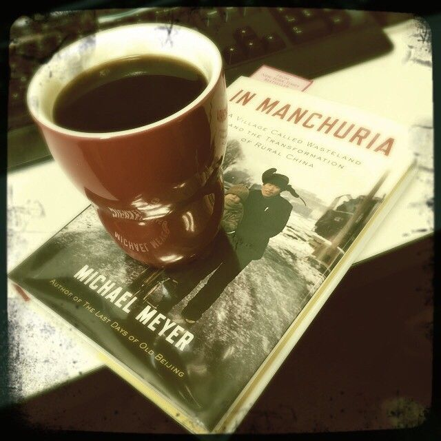 coffee + book = bliss