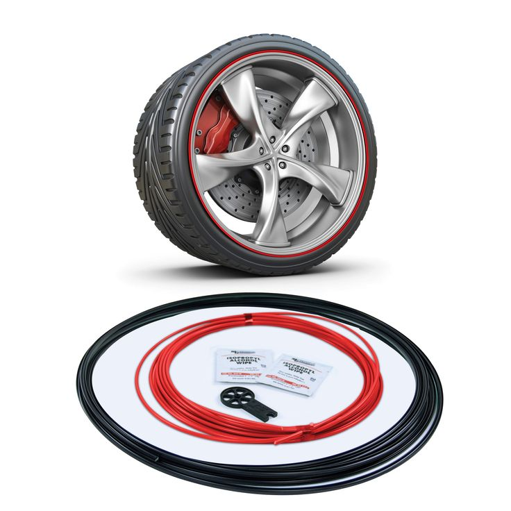 """Complete Kit - Insert and Mounting Track length enough for 5 x 18""""rims to 4 x 22"""" rims."""