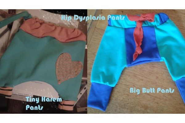 Project: Baby Hip Dysplasia Pants