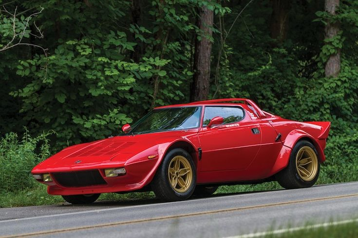 1975 Lancia Stratos HF Stradale by Bertone. Used to want one of these...