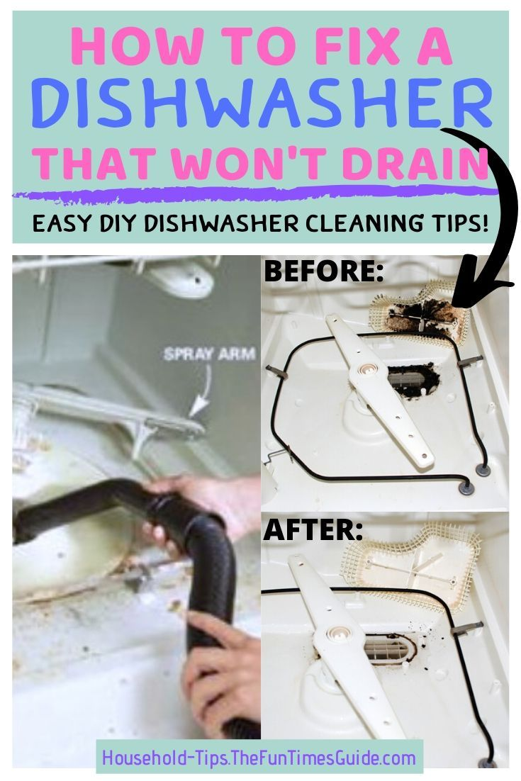 My Old Dishwasher Runs Like New Again After Cleaning Out All That Black Gunk Cleaning Your Dishwasher Clean Dishwasher Dishwasher Cleaning Tips