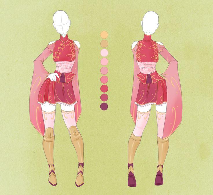 :: Commission Outfit June 05 :: by VioletKy.deviantart.com on @deviantART