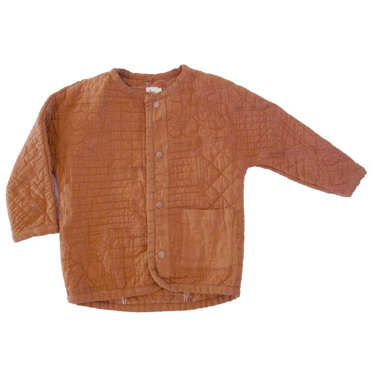 Zuni Quilted Jacket in Brick | NICO NICO
