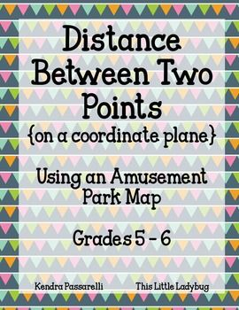 how to find the driving distance between two points