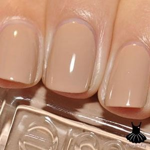 Nude Nails - Essie: Brooch The Subject. Such a great nude color.