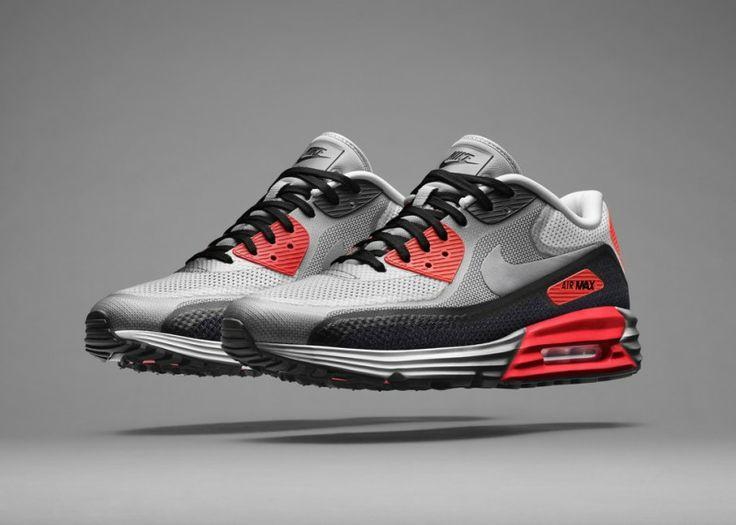 Nike vient d'introduire une toute nouvelle Nike Air Max il s'agit de la Nike  Air Max 90 arborant le mythique coloris Infrared. Cette édition dispose  d'une ...