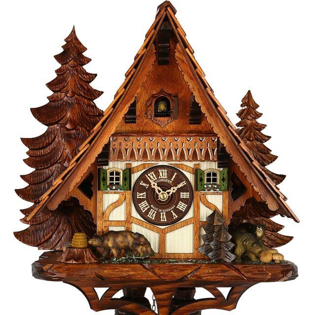 original cuckoo clock black forest house chalet tr shop original aus dem