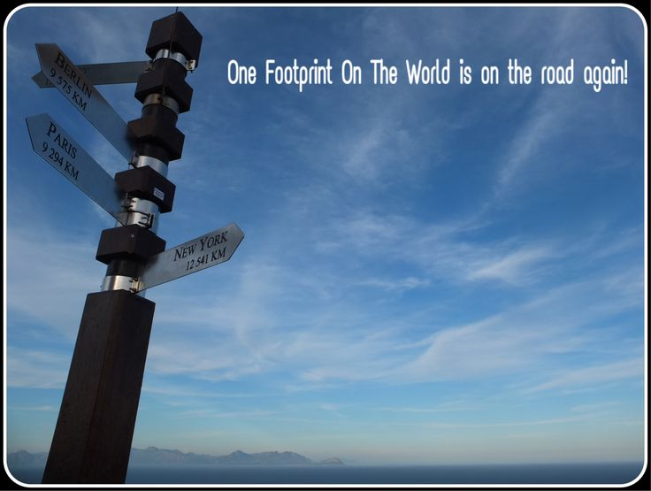 On the road again... Cape Point | One Footprint On The world
