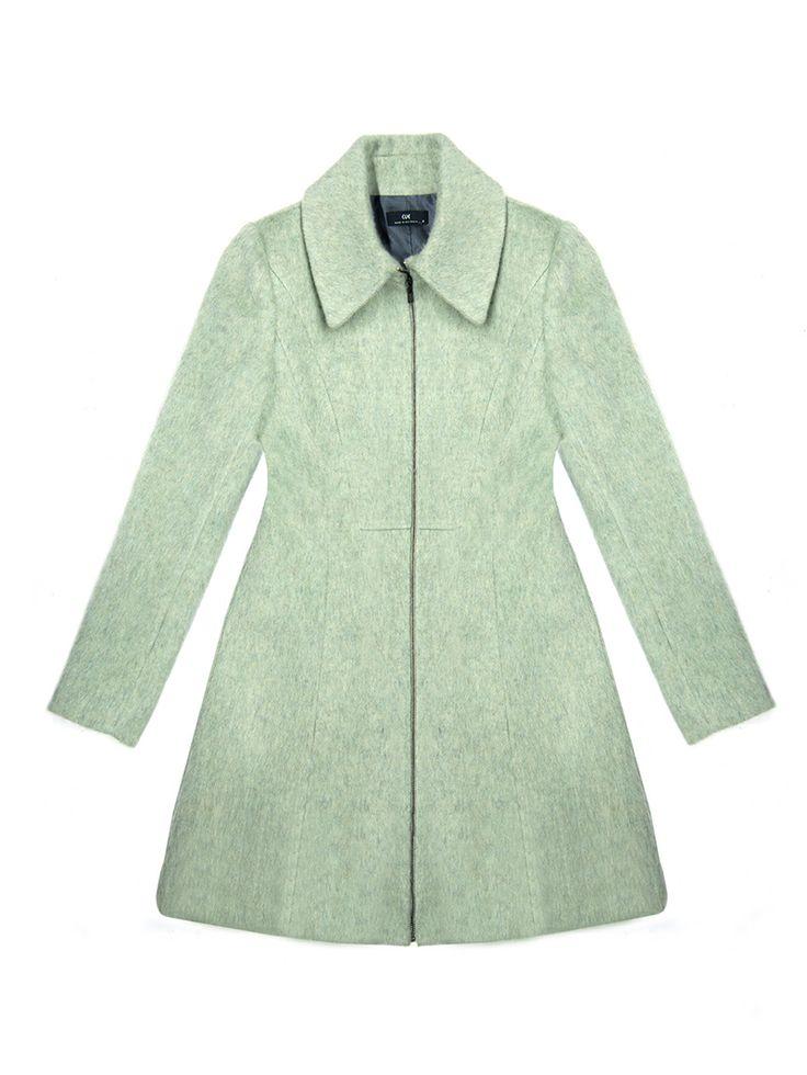 CUE Sage Brushed Wool Coat