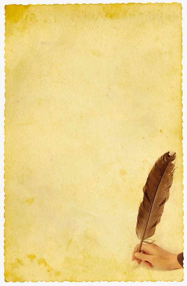 ورقة قديمة ورقة قديمة ورقة صفراء ادوات مكتبيه Png وملف Psd للتحميل مجانا Vintage Writing Paper Old Paper Background Vintage Paper Background