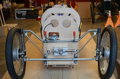 A CycleKart based on a Sandford car which was in turn derived from Morgan