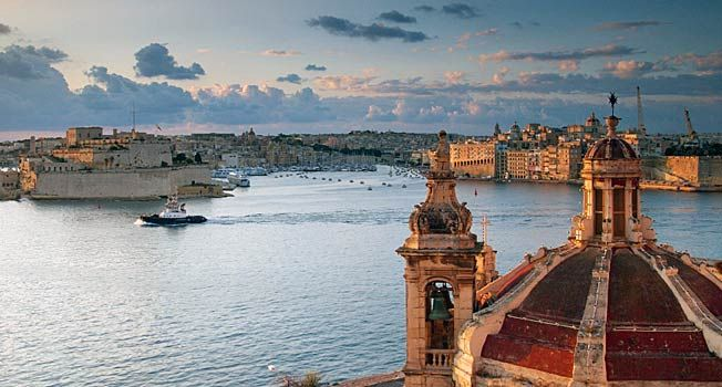 Dykning, solgaranti, historie og forunderlig natur. Malta har det hele. - Foto: Richard Goodrich