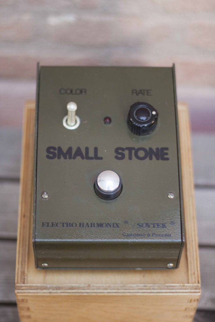 Small Stone Sovtek Electro Harmonix Russian Phaser #sovtek #smallstone #small #stone #phaser #phazer #russian #marcokrasinski #military #rigrundown #green