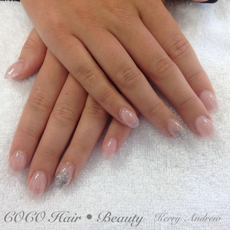 Sculptured Acrylic Round Nails