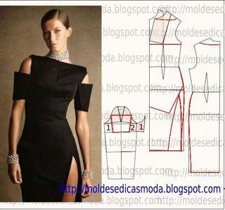 MOLDE DE ESTOJO DE COSTURA | Moldes Moda por Medida | Bloglovin'