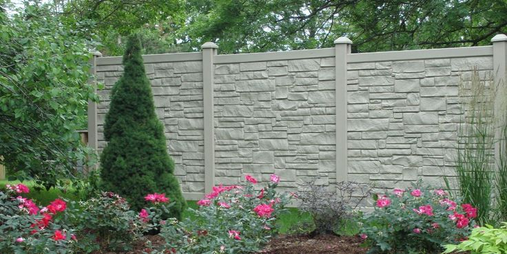 Ecostone Fencing Blocks 98 Of Direct Sound With An Stc
