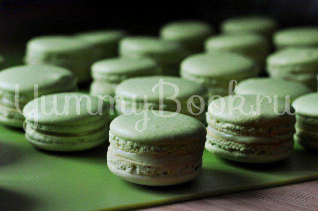 Макаронс с зеленым чаем: простой и вкусный пошаговый рецепт с подробным описанием, пошаговыми фотографиями, советами и отзывами о рецепте
