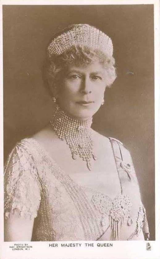 Königin Mary von England, Queen of Britain, nee Princess Teck 1867 - 1953