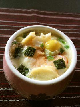 美人レシピ・松茸風味の茶碗蒸し