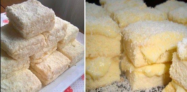 HoyTe enseñamoscómo hacer UnaTorta Helada de Leche en Polvo … Ingredientes: Masa: 4 claras 1 pizca de sal. 1 taza de requesón helada. 4 yemas. 3 tazas de harina de trigo. 2 tazas de azúcar…