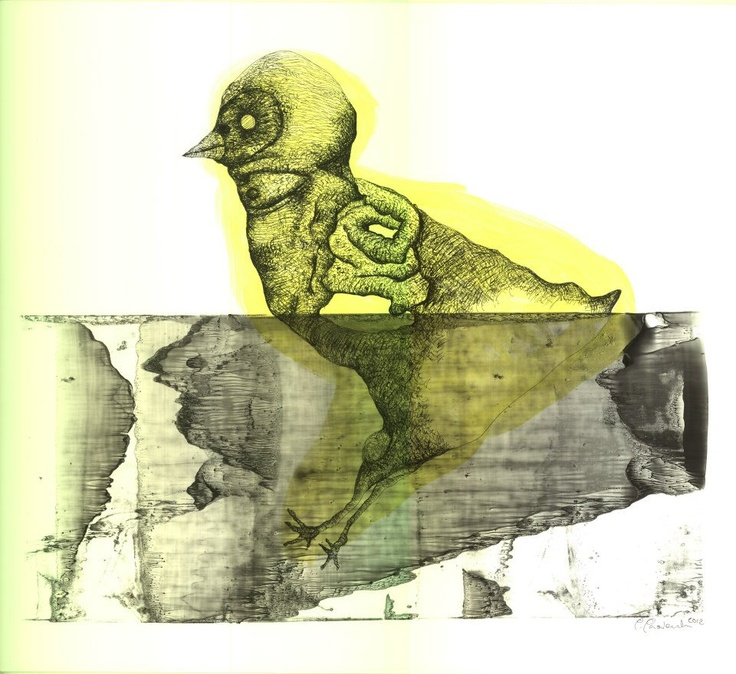 Open Art Warsaw Artist: Piotr Pasiewicz, Monotyping +, 2012